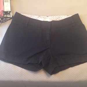 Jcrew broken in chino shorts Dash black-size 2
